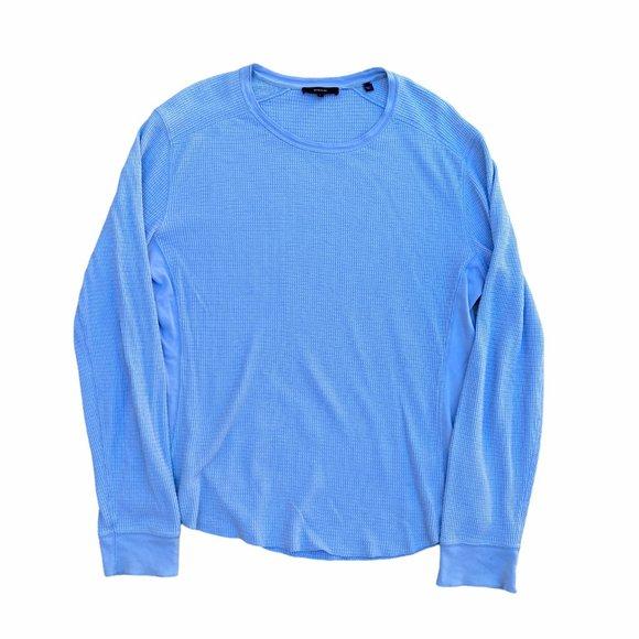 VINCE Designer Light L/Sleeve Waffle Therm Shirt M